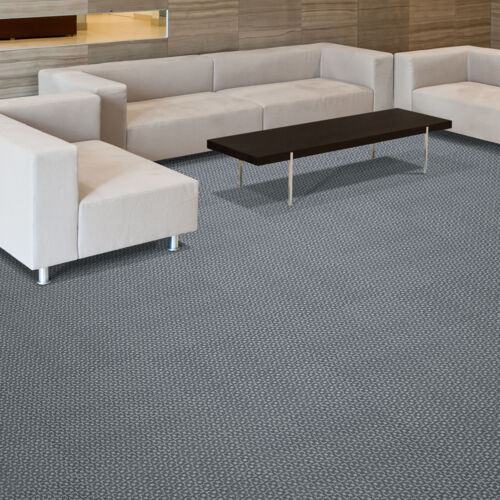 Modern room and decor with Foss Floors carpet tiles being used
